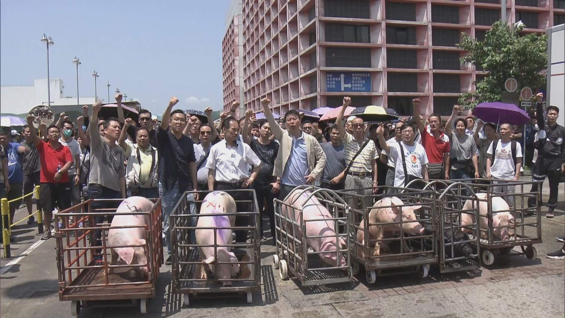 豬肉業界要求與政府再對話