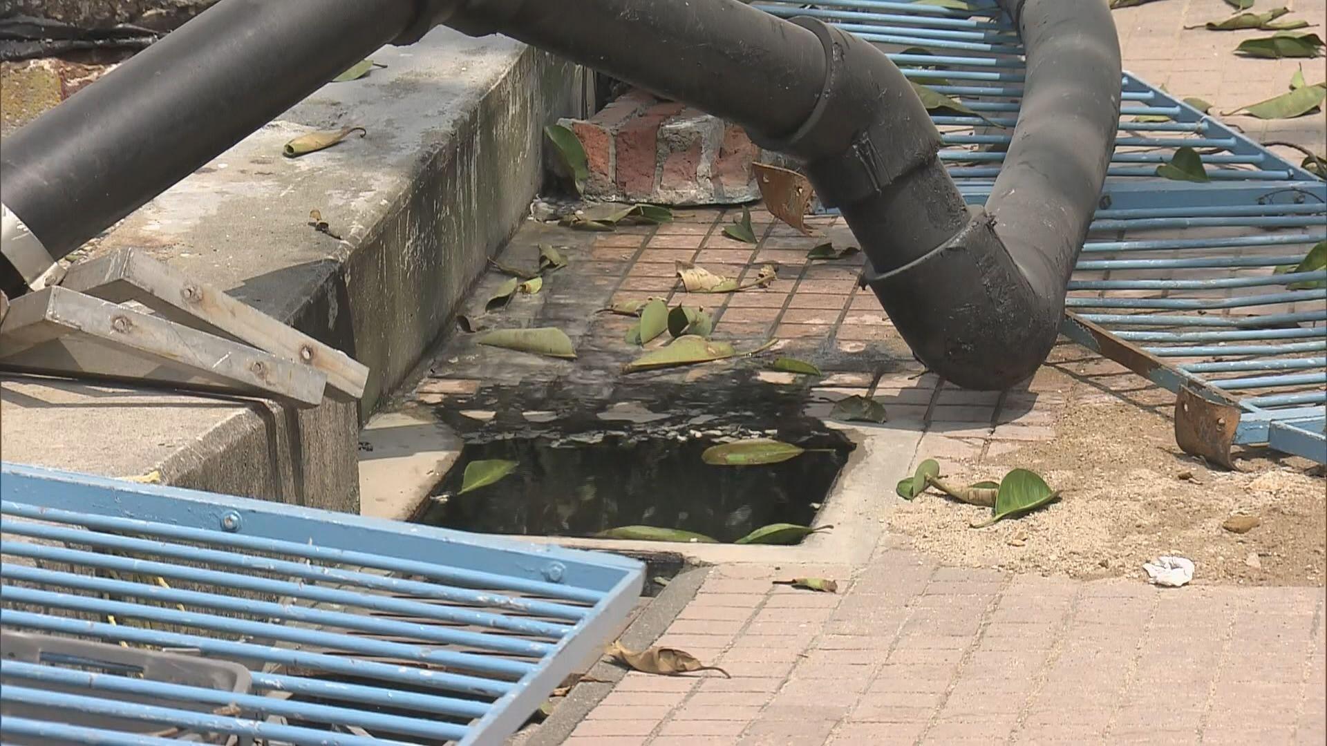 西貢污水處理廠設施嚴重受損