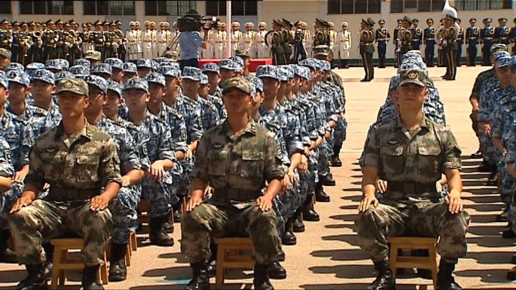 五百名中學生參與解放軍夏令營