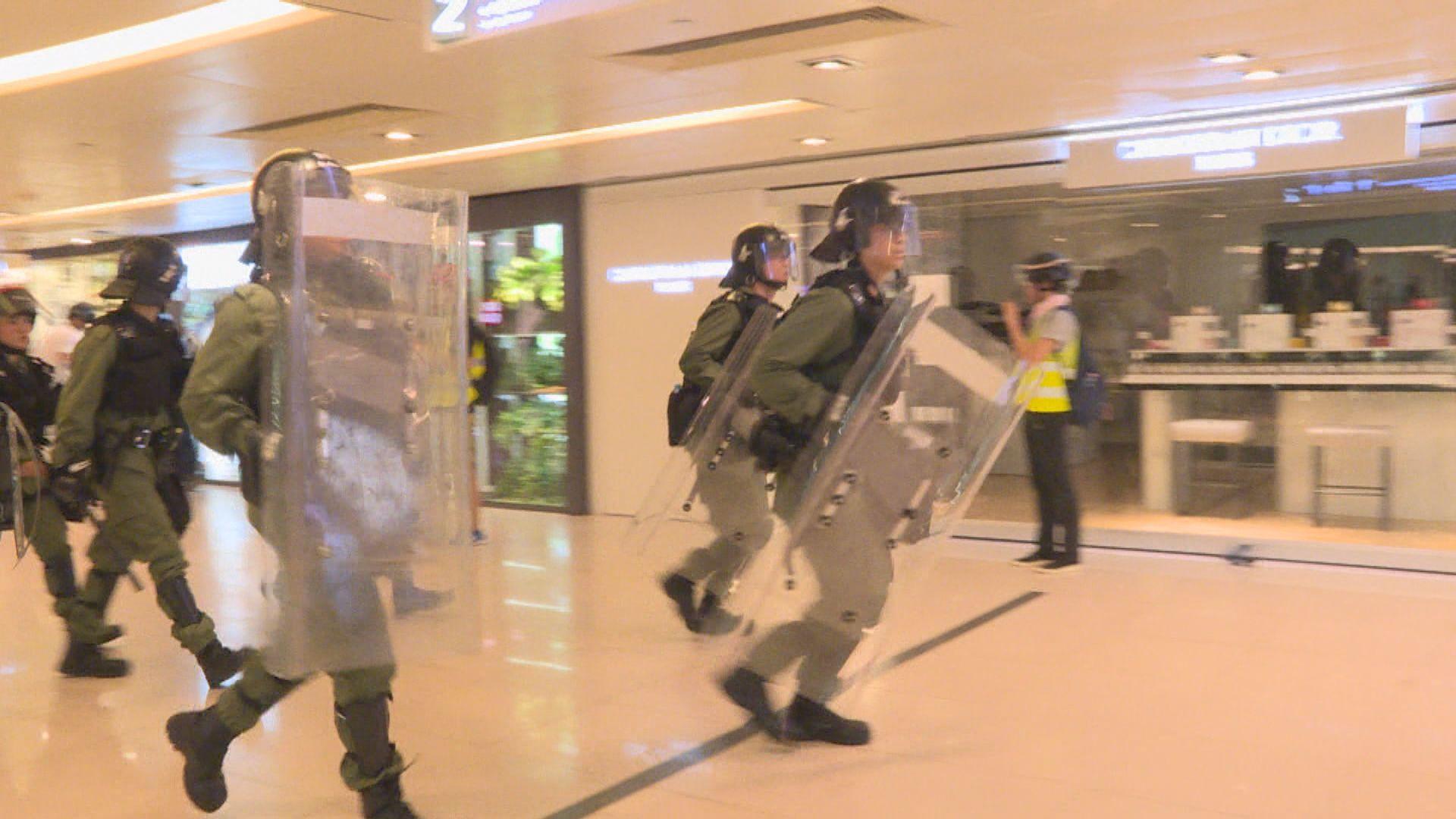 新城市廣場:警方有權在商場內執行職務 毋須事先通知