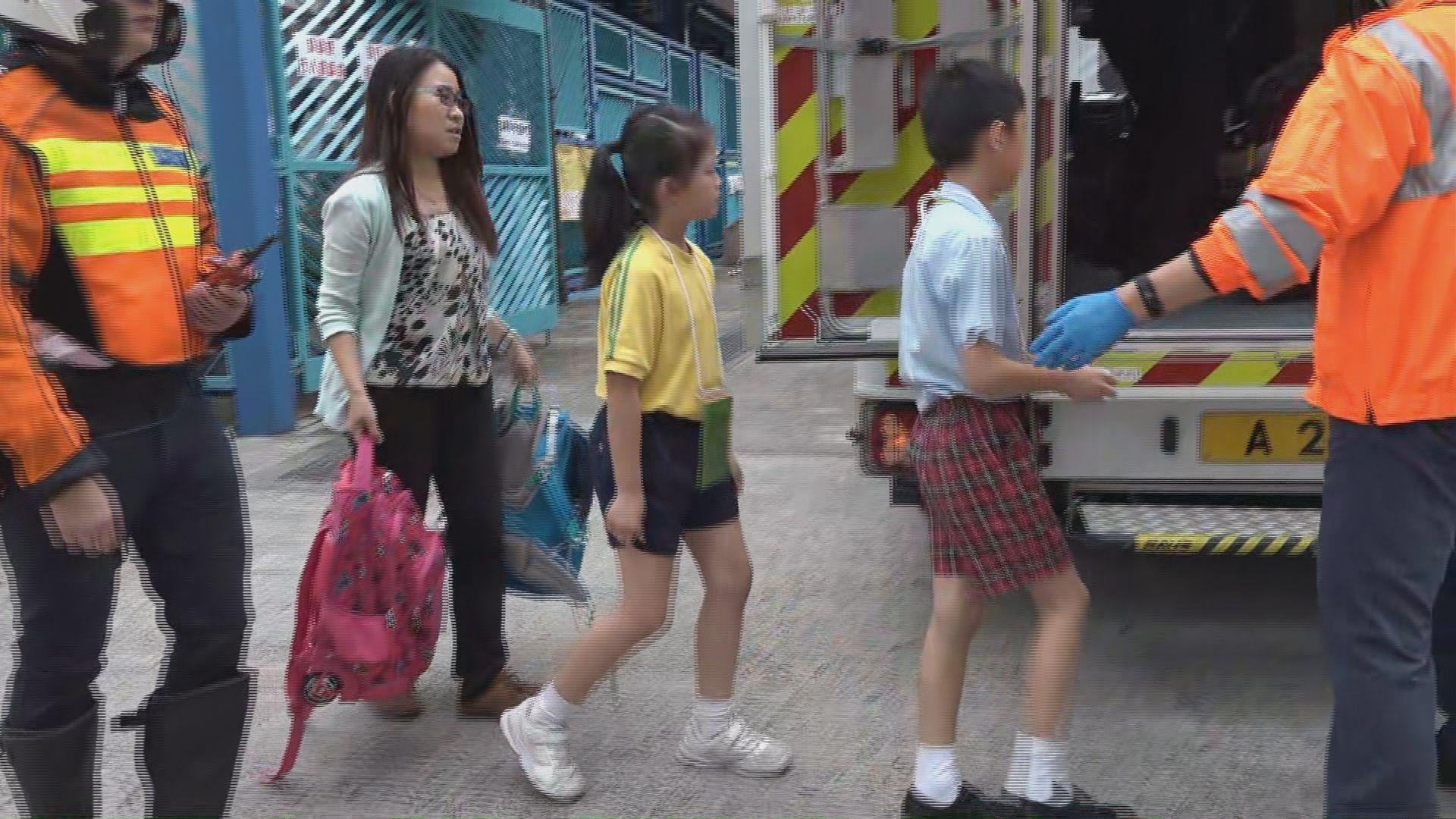 大埔十名學生懷疑食物中毒送院