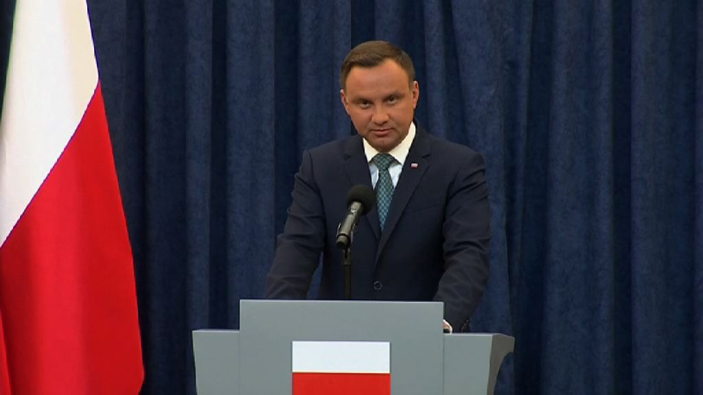 波蘭總統簽署一項司法改革法案