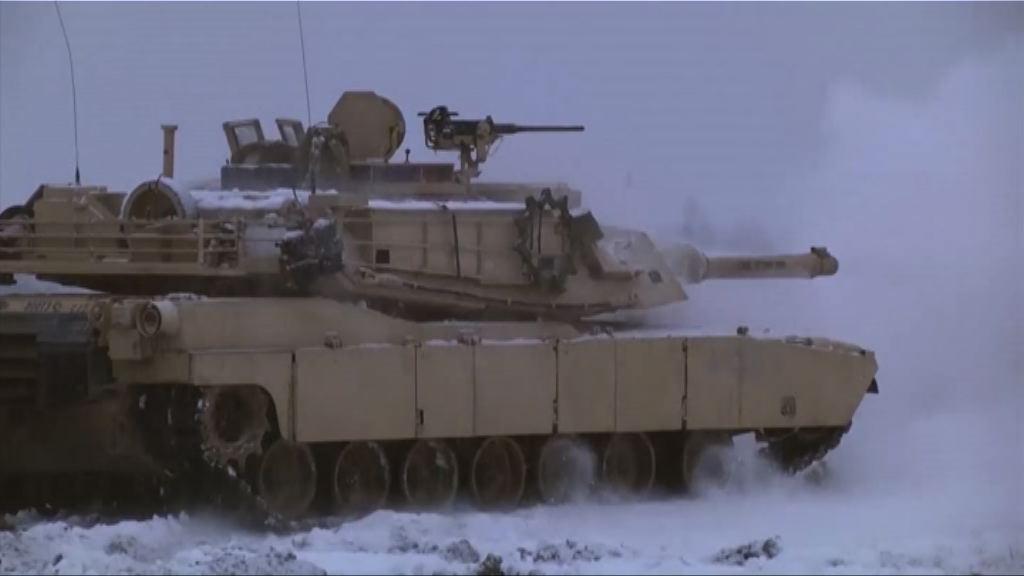 美軍波蘭軍演 駐軍惹俄不滿