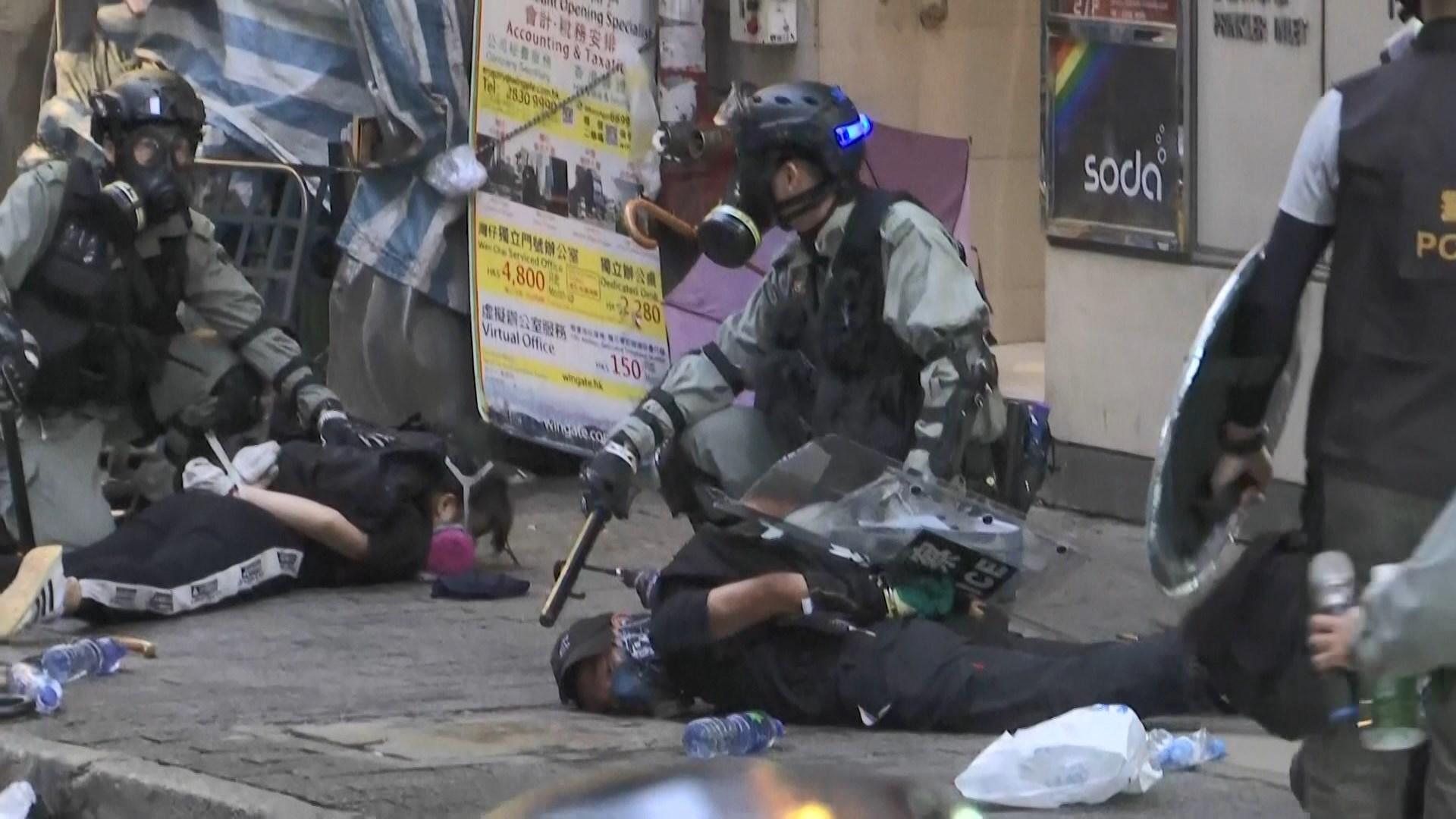 保安局:約4300人因反修例示威被捕