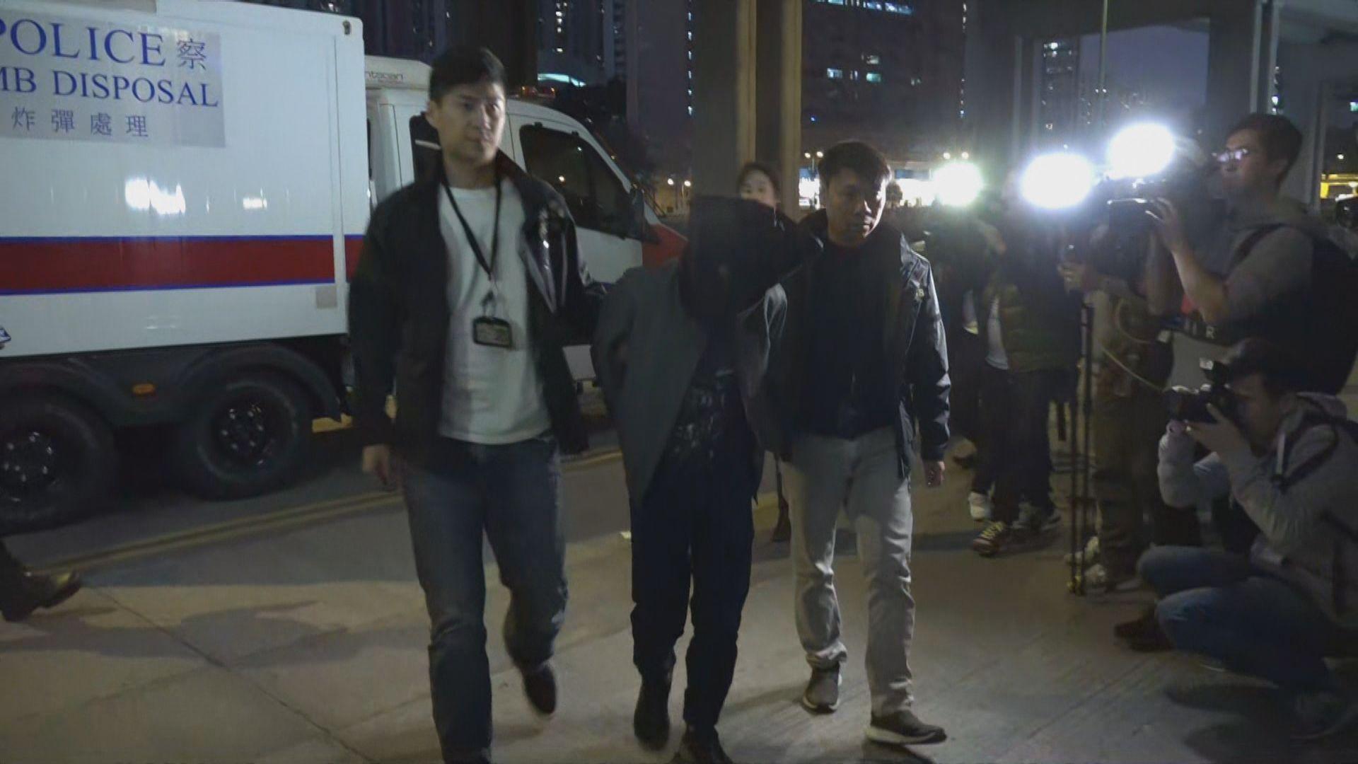 警拘三男涉試驗遙控爆炸裝置 消息指一人是實驗室助理