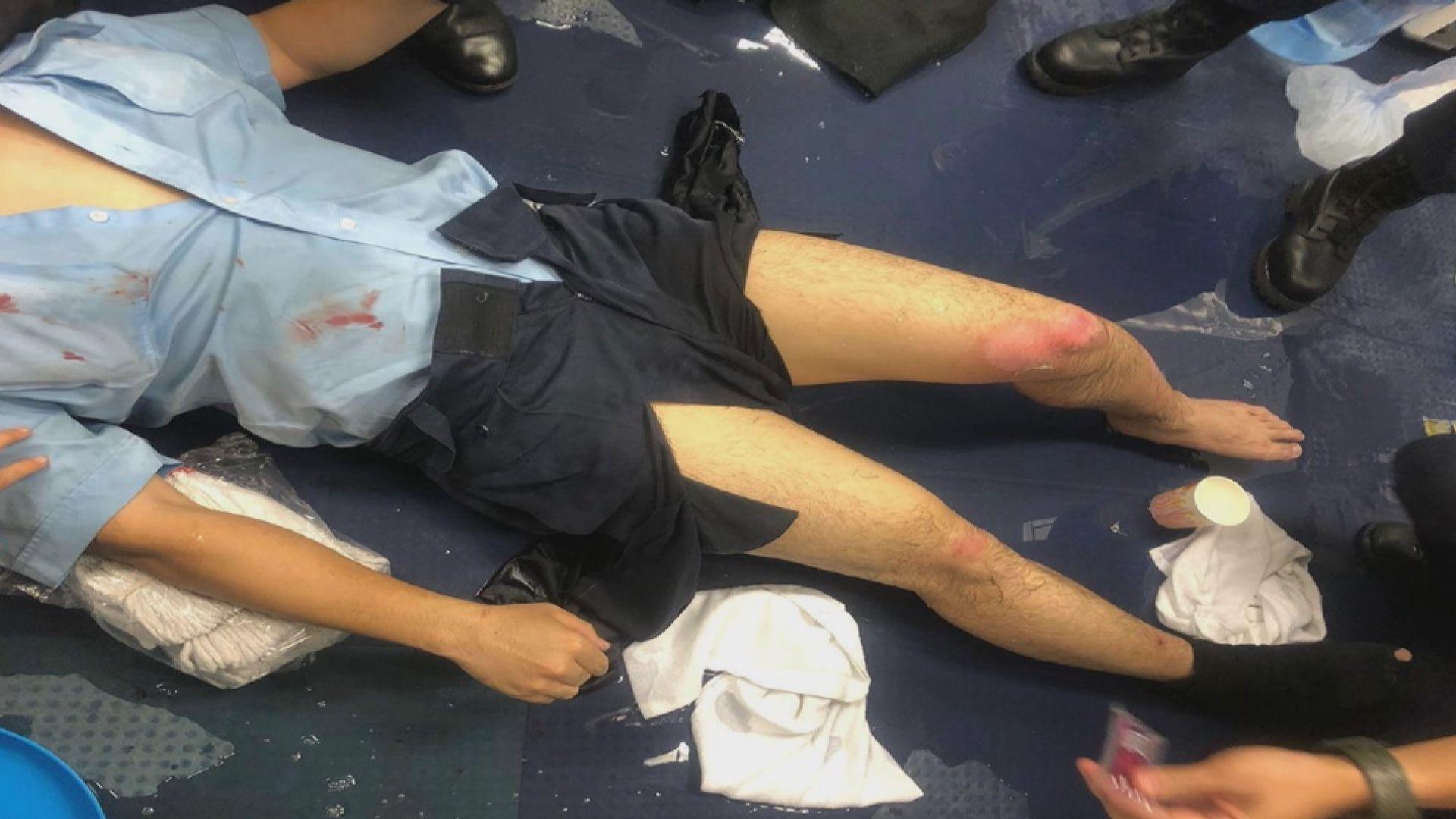 警務處強烈譴責非法暴力行為