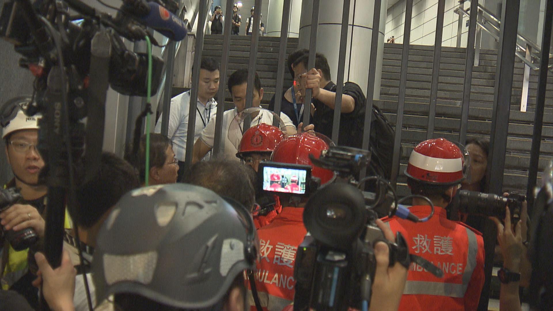 示威者包圍警總 本台發現多個原因致救護延誤