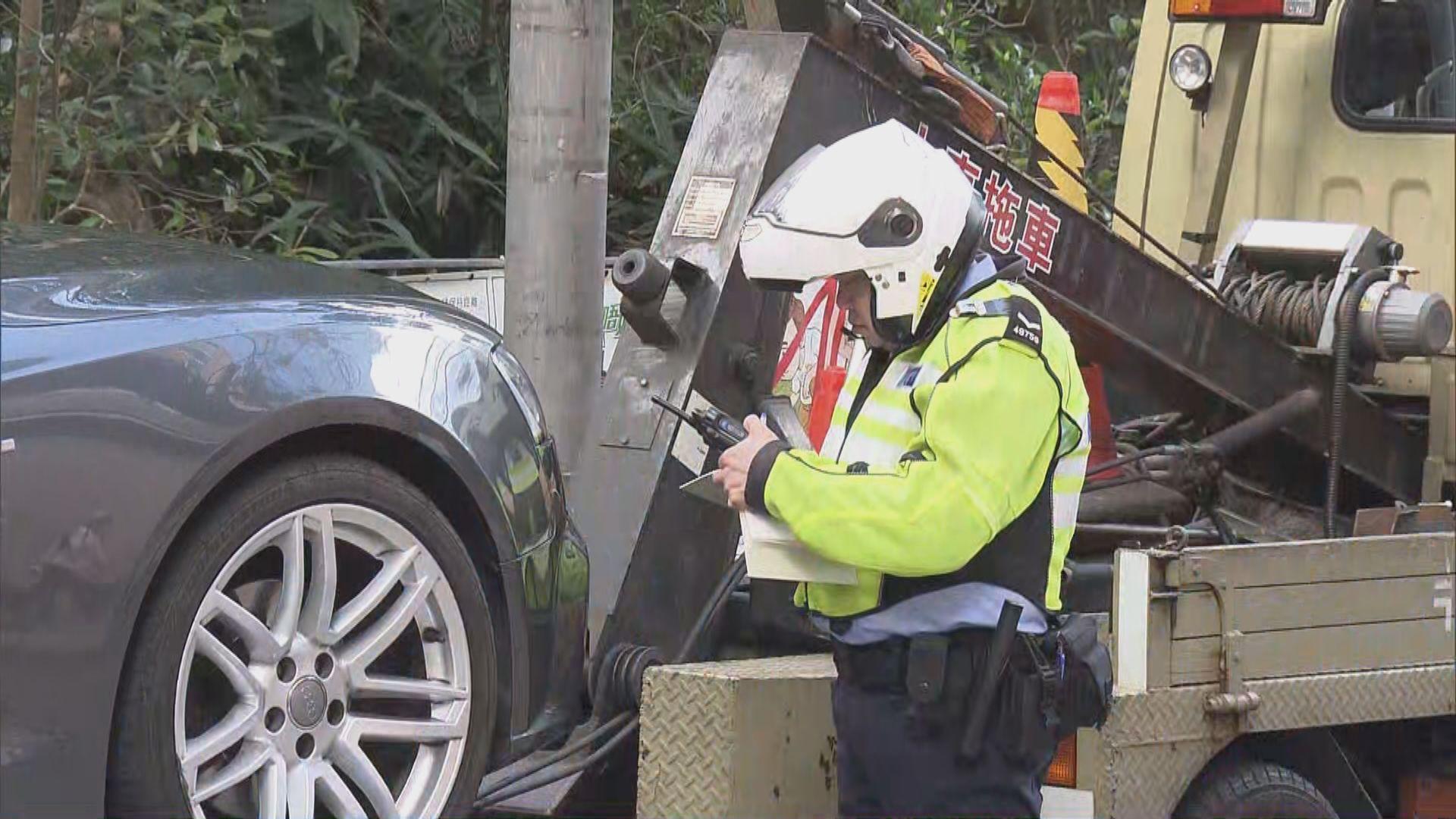 周末郊區違例泊車情況嚴重 警方指會加強執法