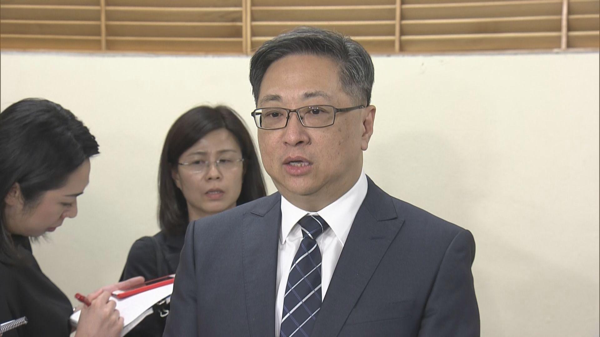 盧偉聰:懷疑資料被竊用可向警方報案