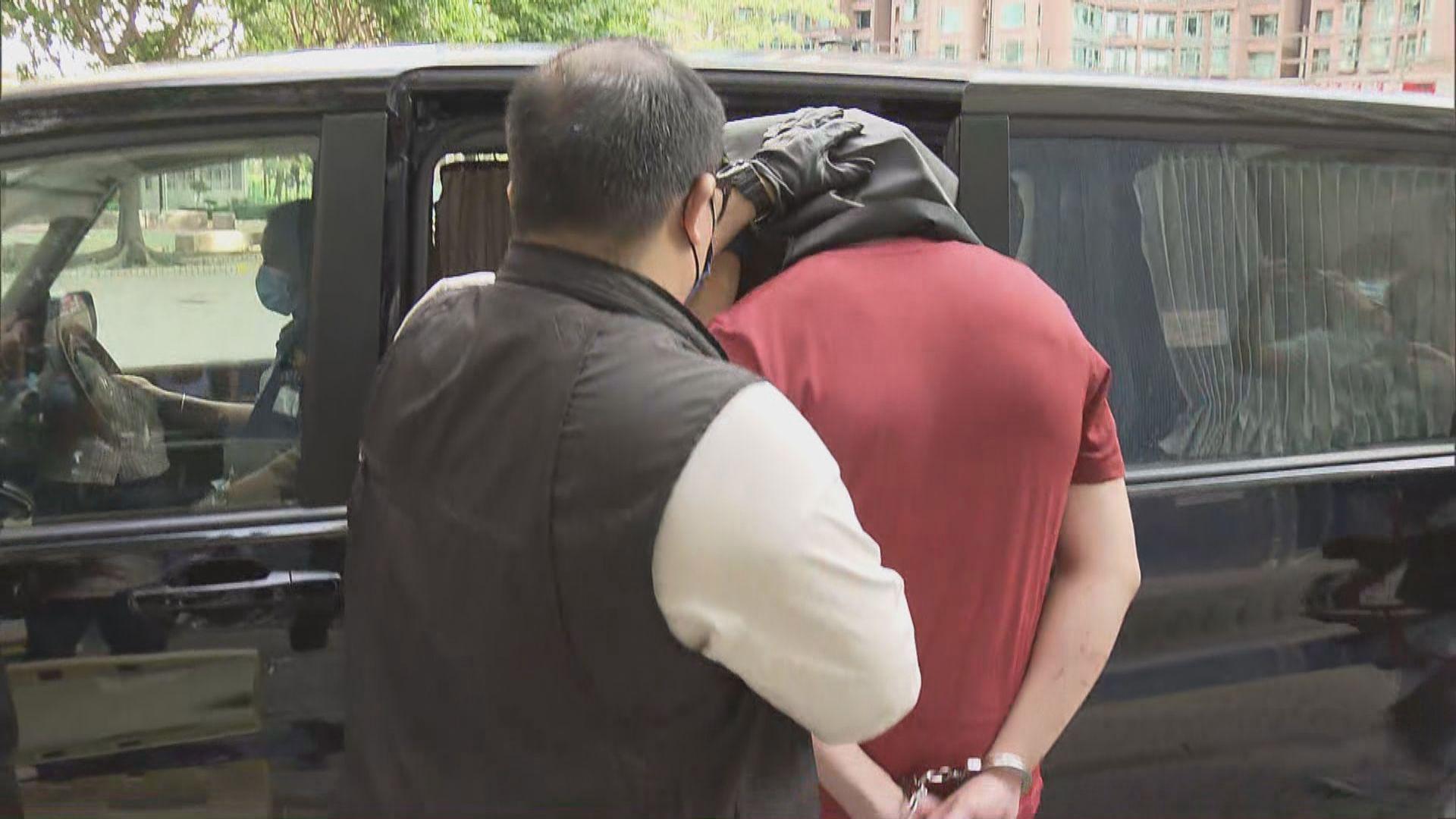 24歲男子涉禮賓府投擲易燃物 周一提堂