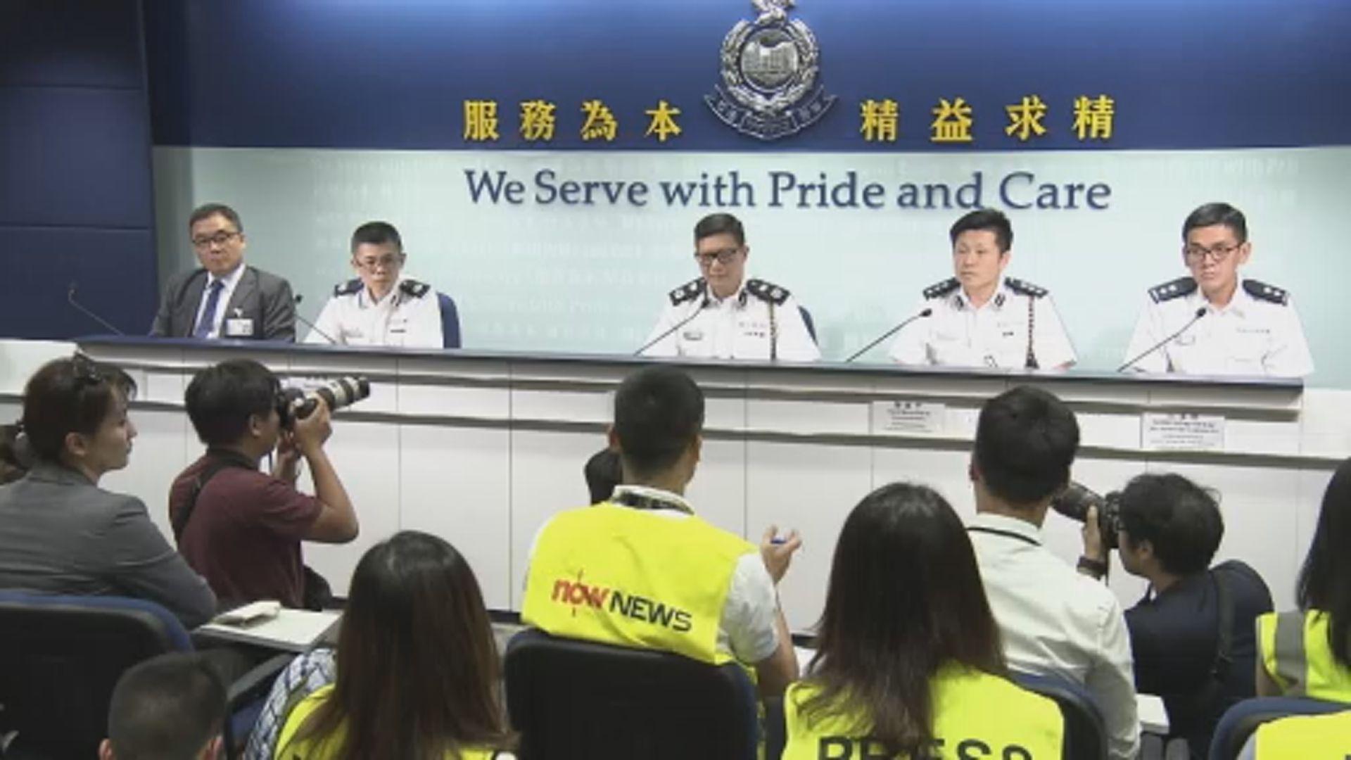 警方承認警員喬裝成不同人物 採取情報主導行動