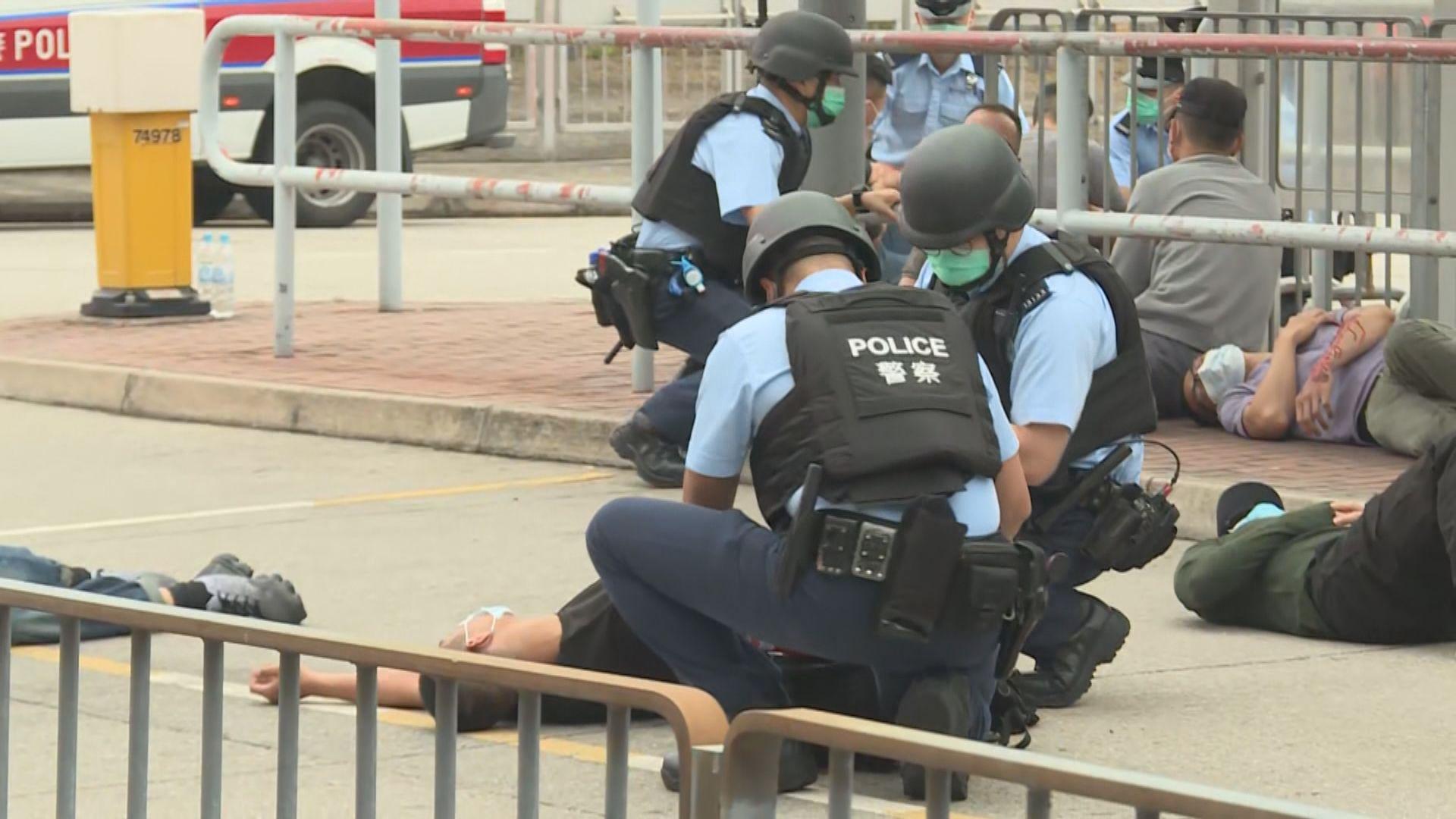 警方:香港恐襲風險級別維持中度