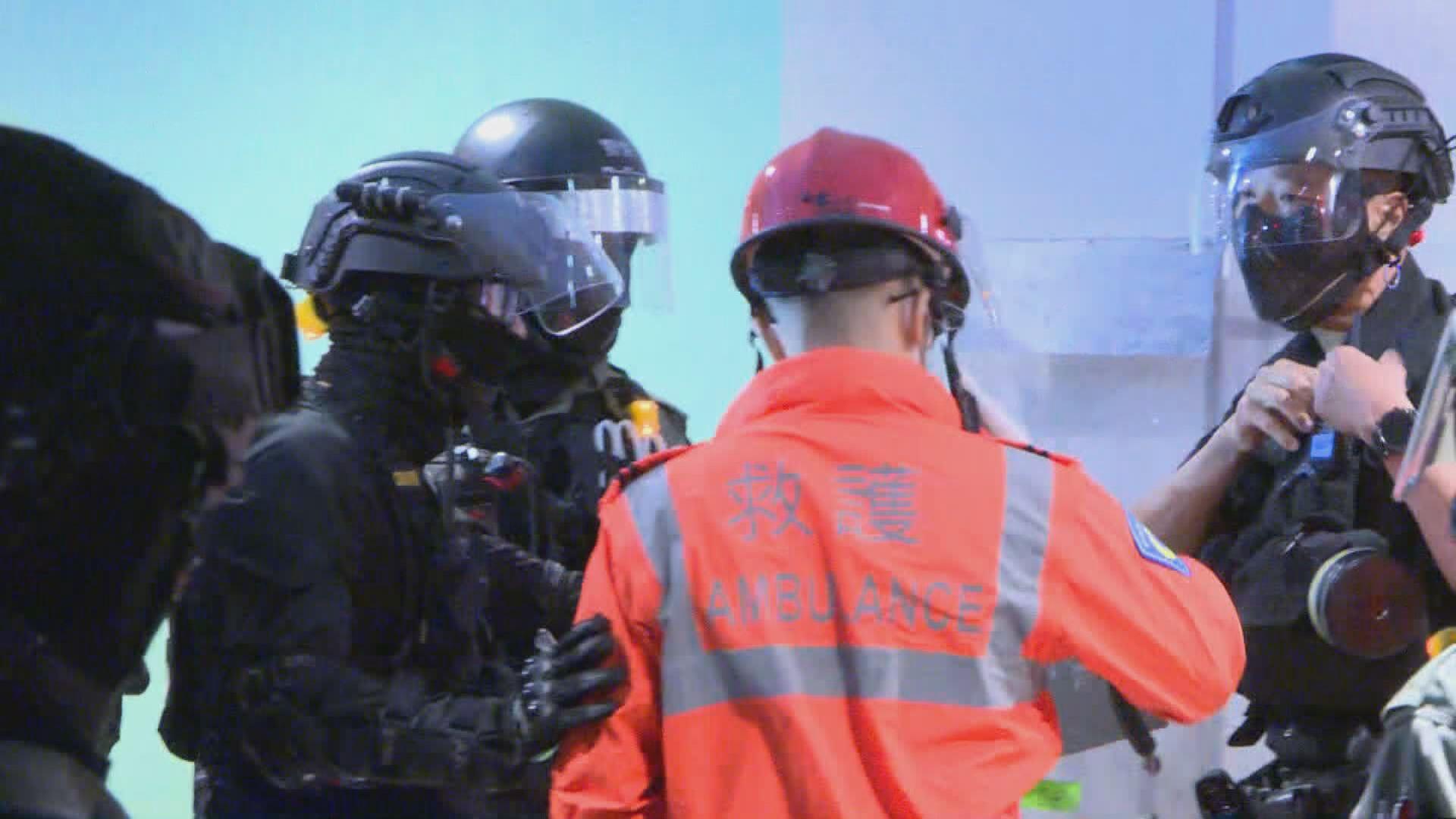 警員救護爭吵 兩部門指會繼續互相體諒合作