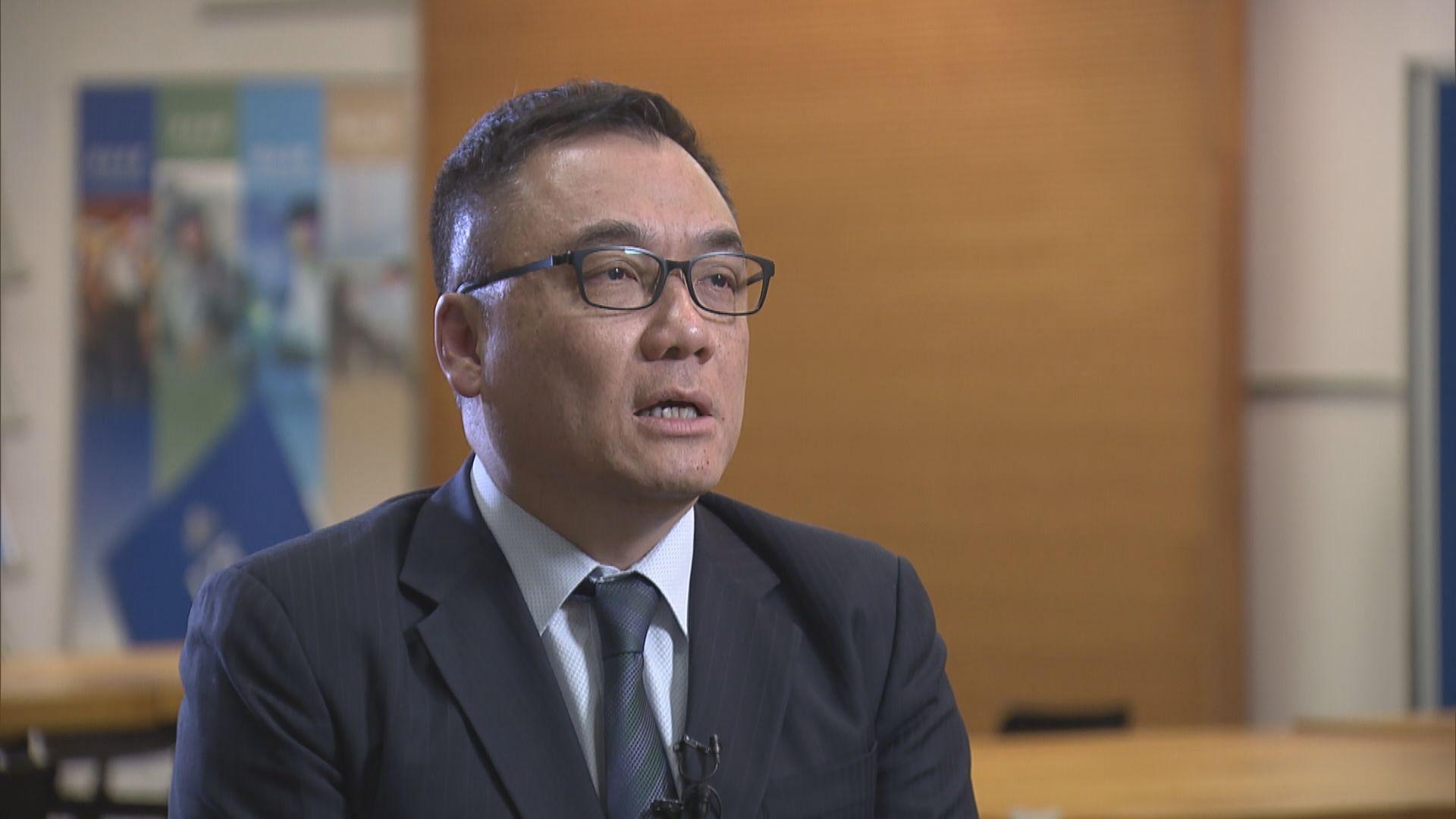 李桂華指反修例事件將有更多人被起訴 否認濫捕