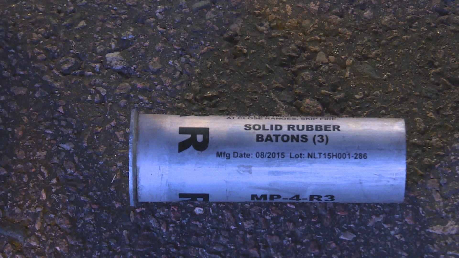 警方認用過期催淚彈 指會暫時停用