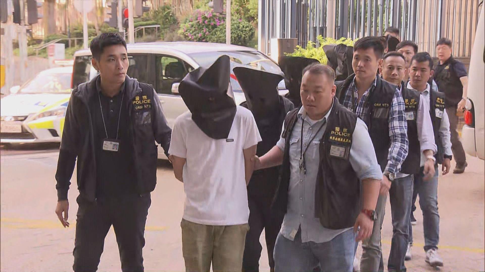 警方反黑行動拘31名男女