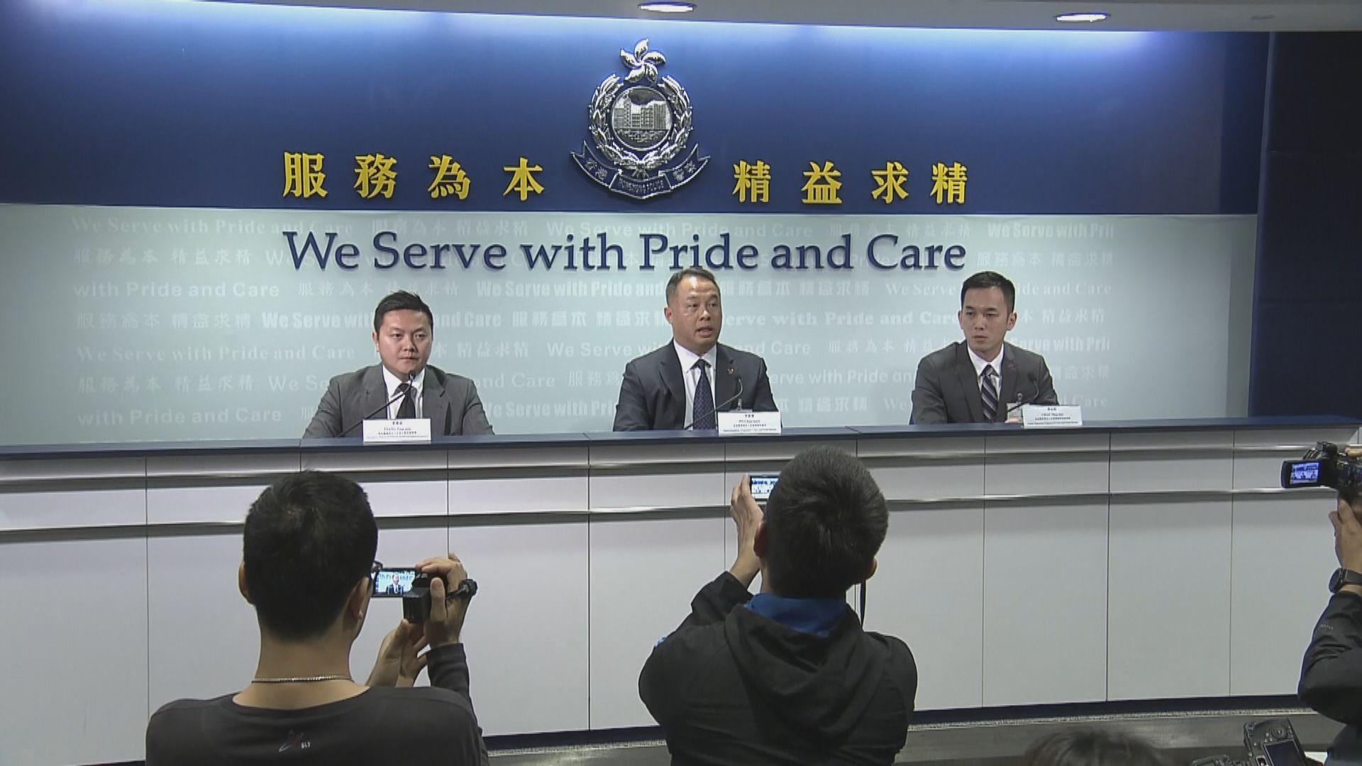 警拘35人涉多宗傷人及刑毀案