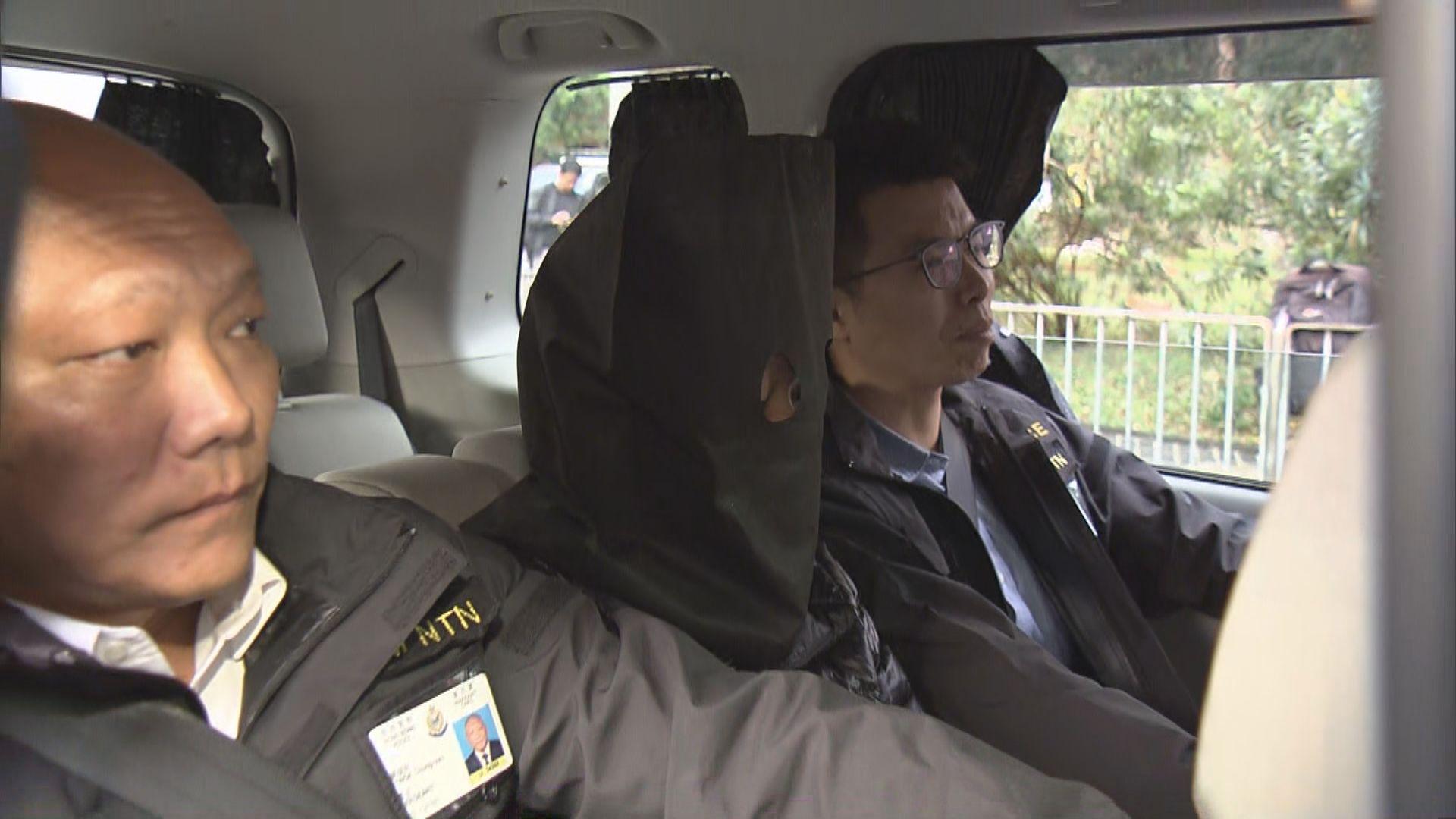 內地移交一名疑犯涉偷貨車貨物