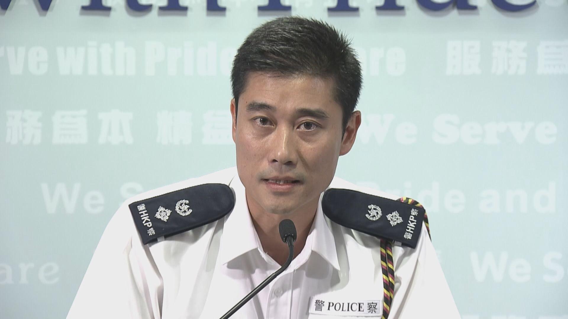 警方:水炮車未完成路試 嚴重情況方會使用