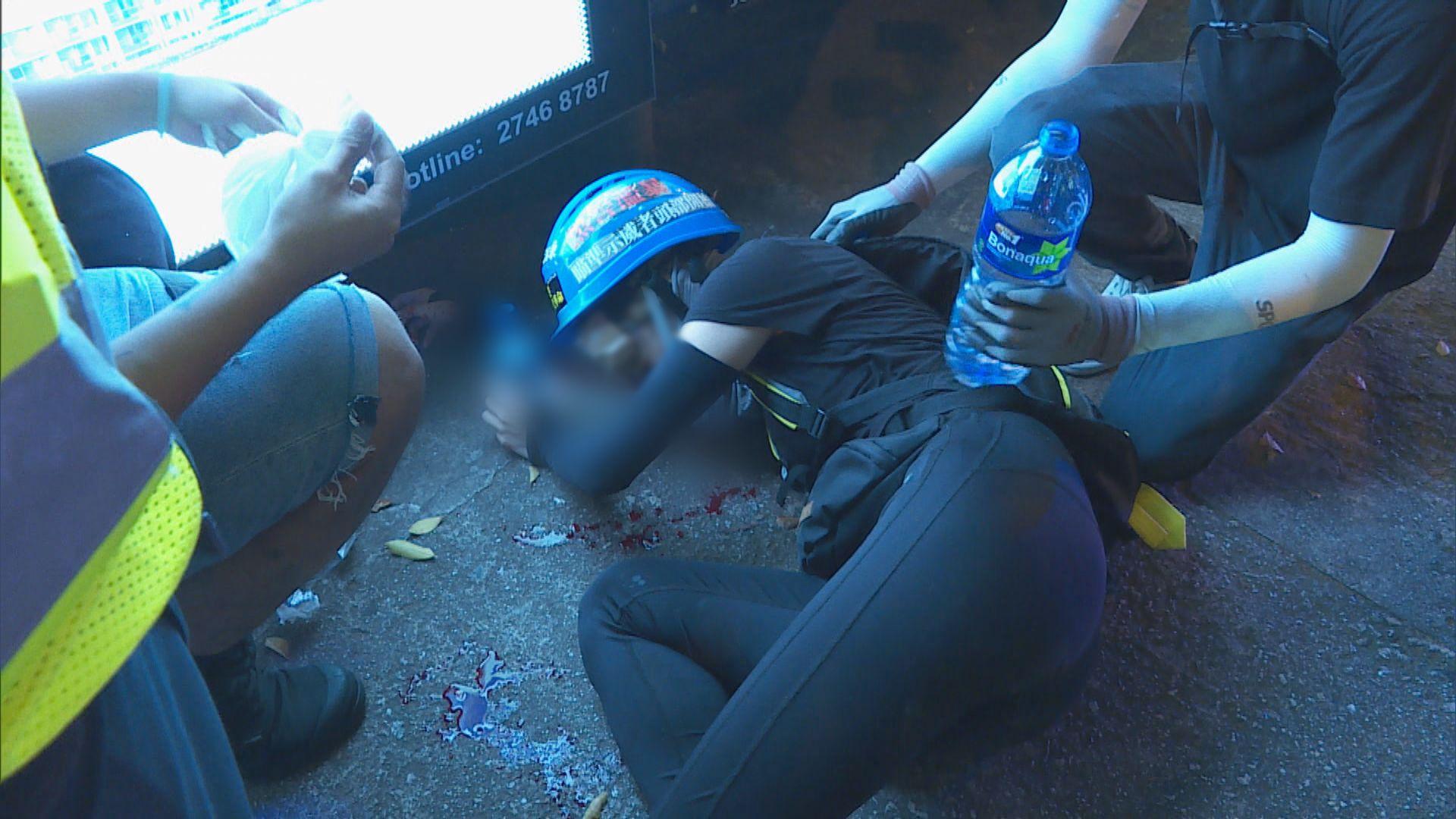 警方籲眼部中槍女子向警方提供資料