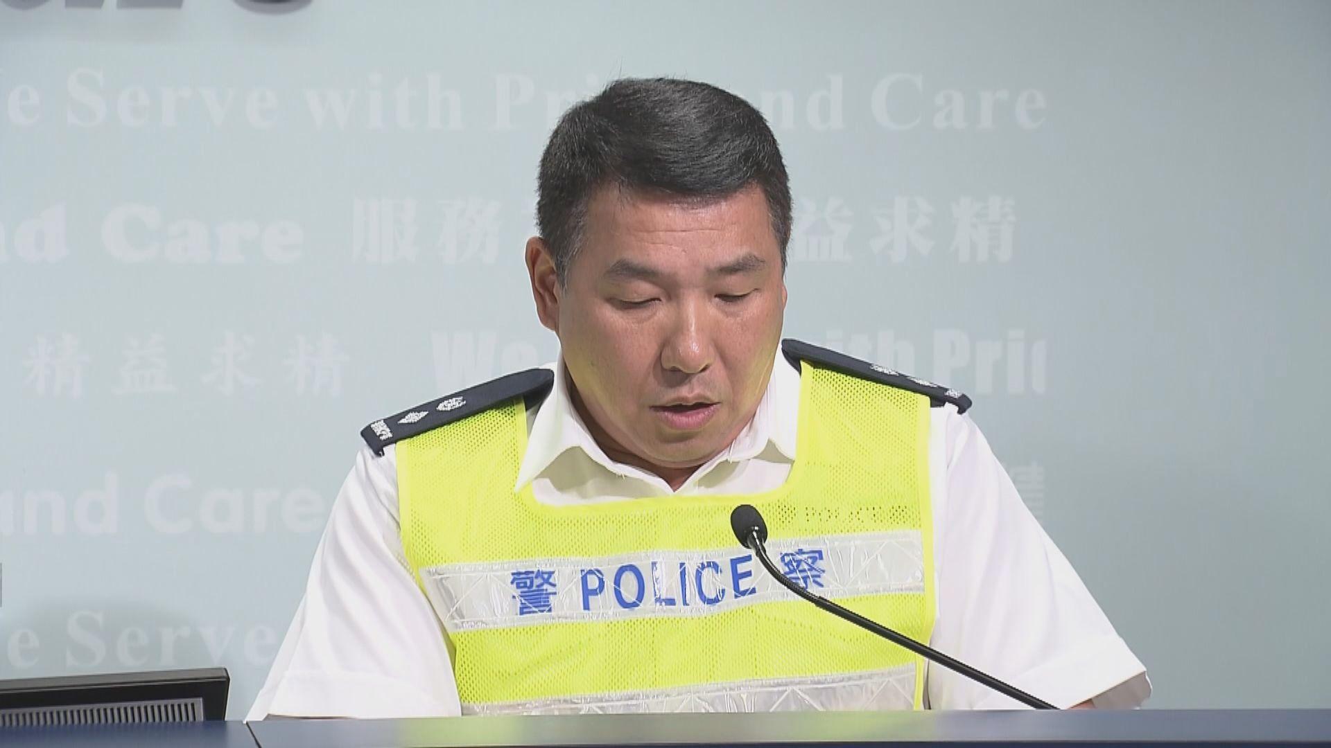 警方:周六如有車輛故意堵塞往機場道路會從速處理