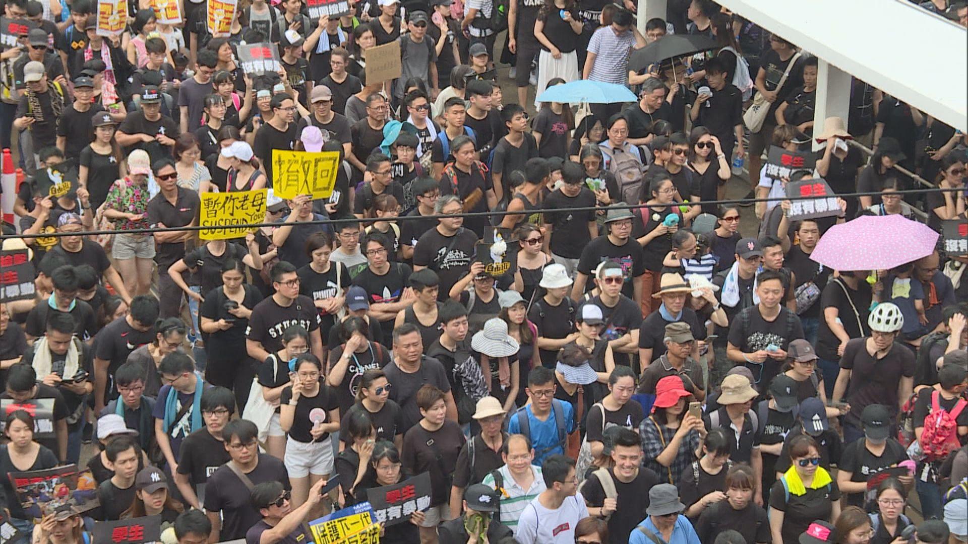 警方反對民陣周日活動 民陣已提上訴