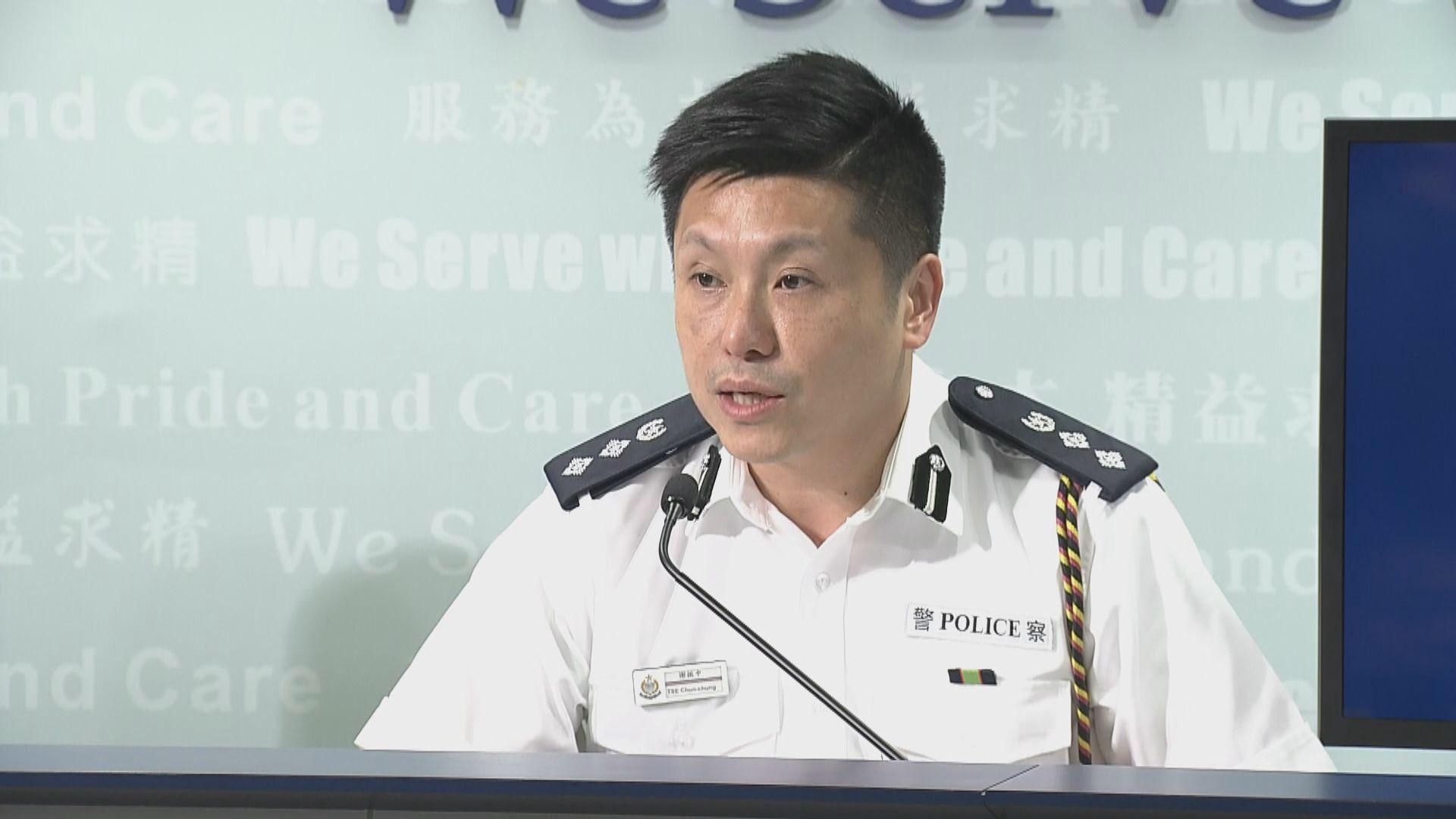 警方:望校方守諾阻止學生投擲雜物至公路