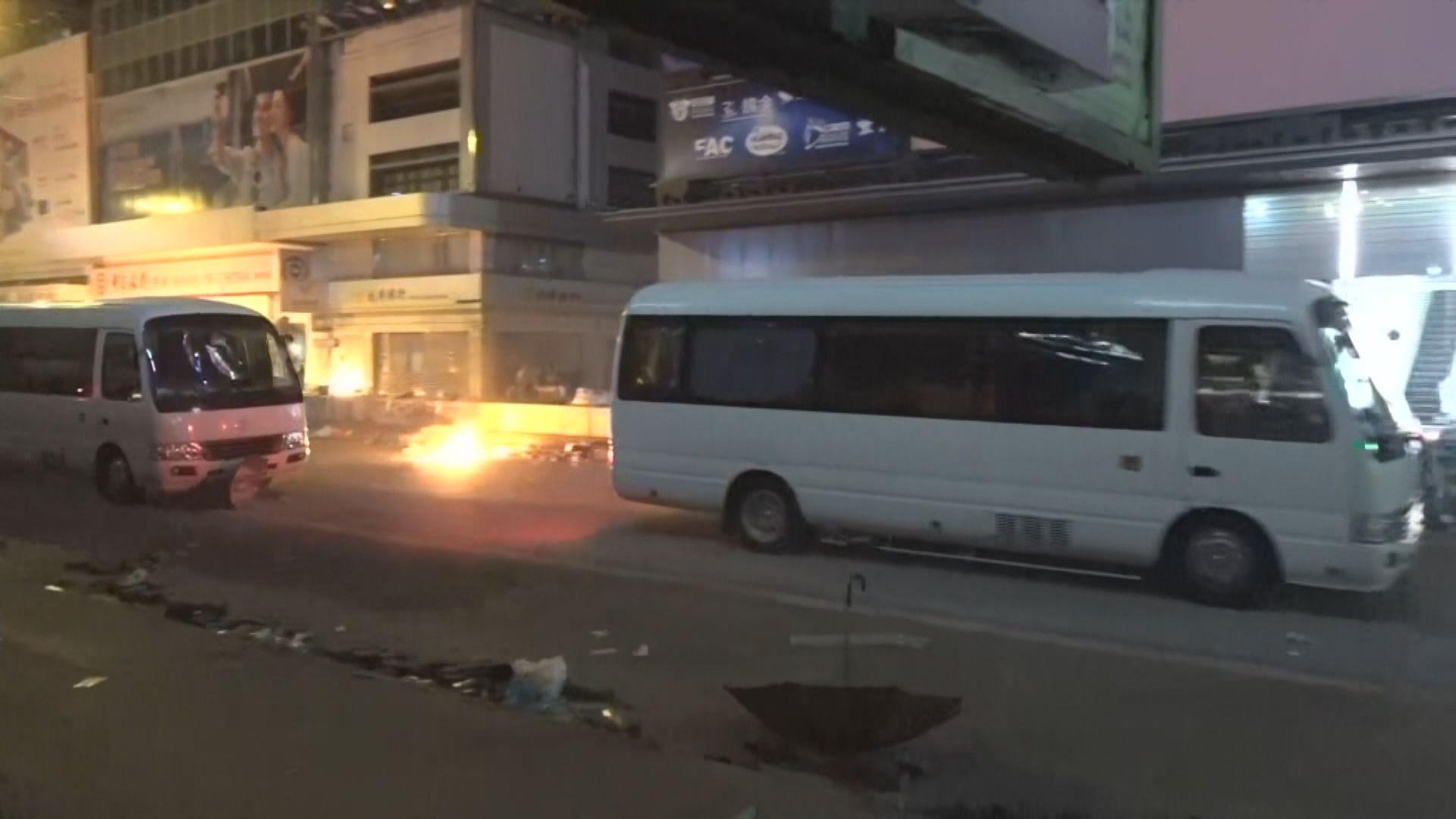 警方否認上周油尖旺衝突釀成人踩人事件