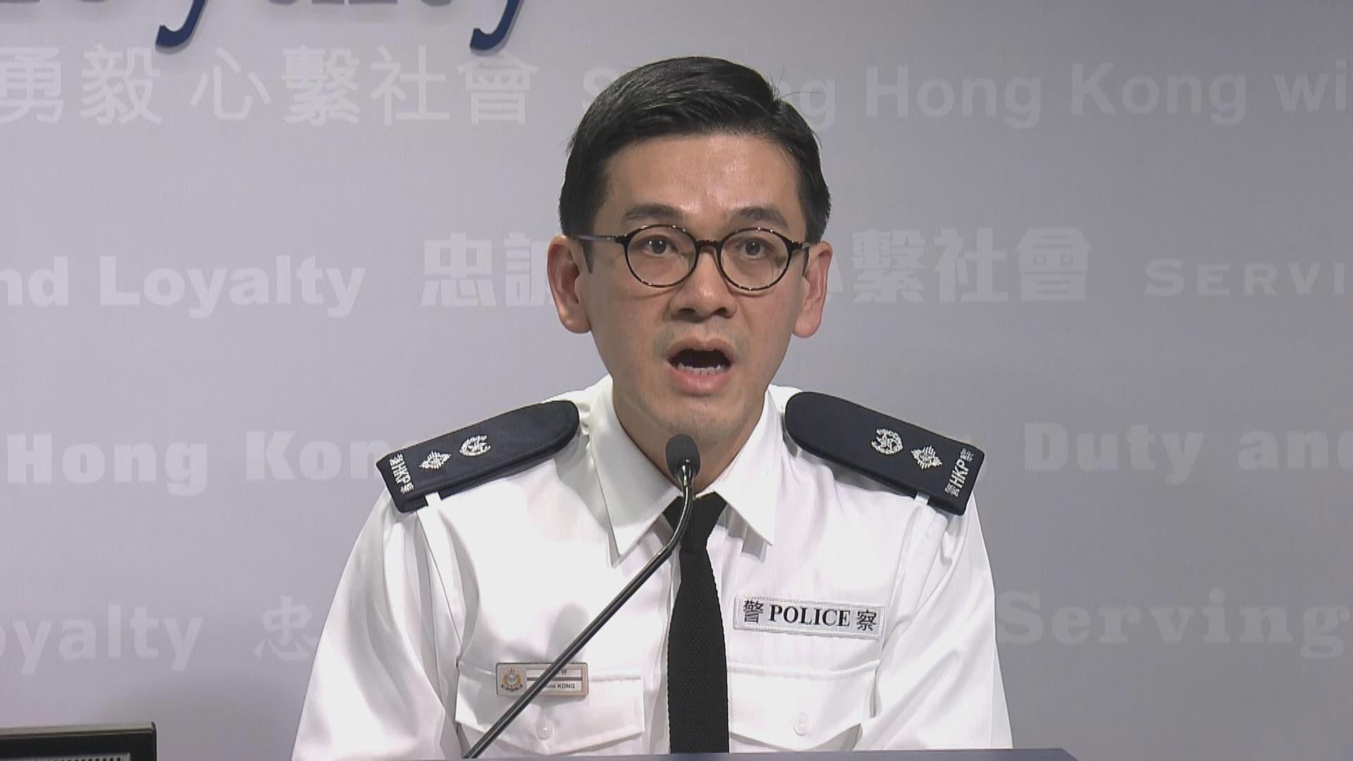 修例風波半年 警方使用1.6萬枚催淚彈