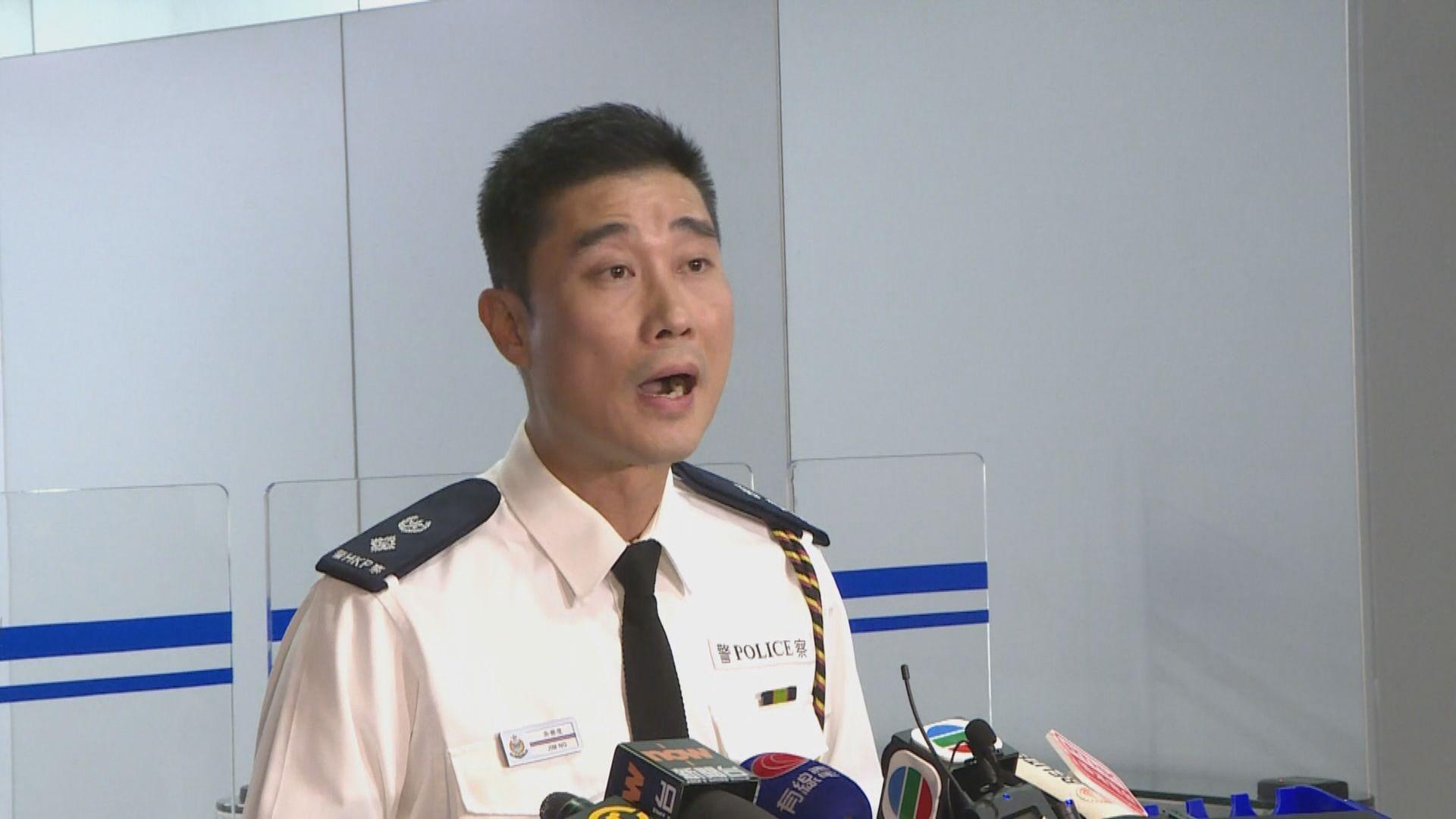警方:評估遊行無法安全進行 故要求民陣中止遊行