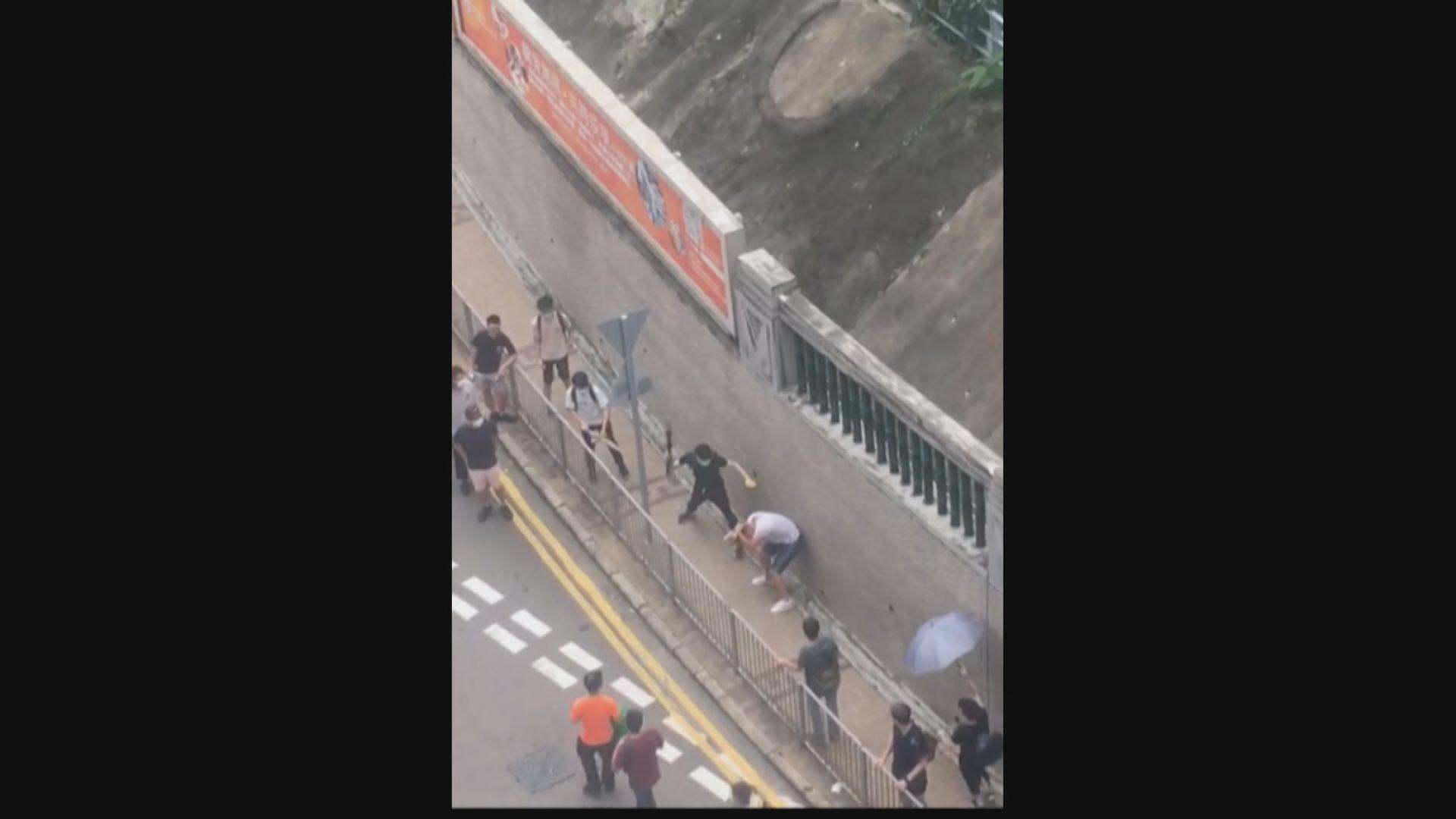 警方拘六人 涉與律師會成員陳子遷遇襲有關