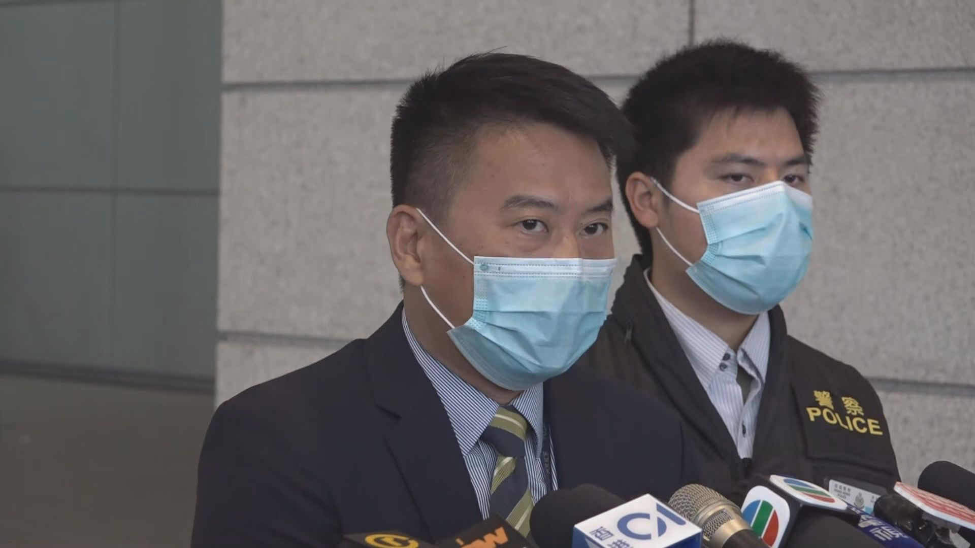 警方拘捕七人 涉嫌協助七一刺傷警員疑犯逃離