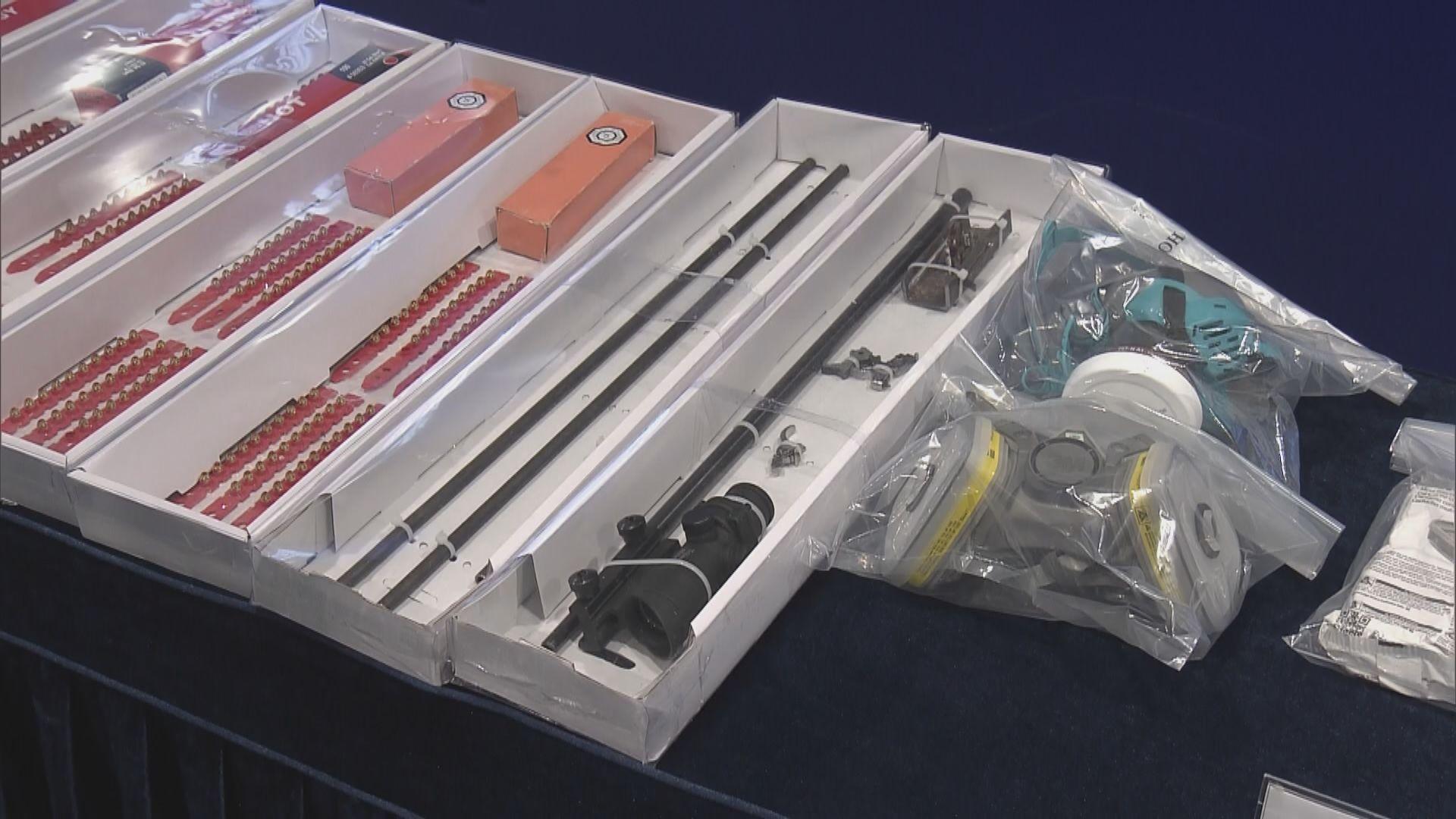 警方檢獲一批爆炸品原材料 稱不排除有人想在七一犯案