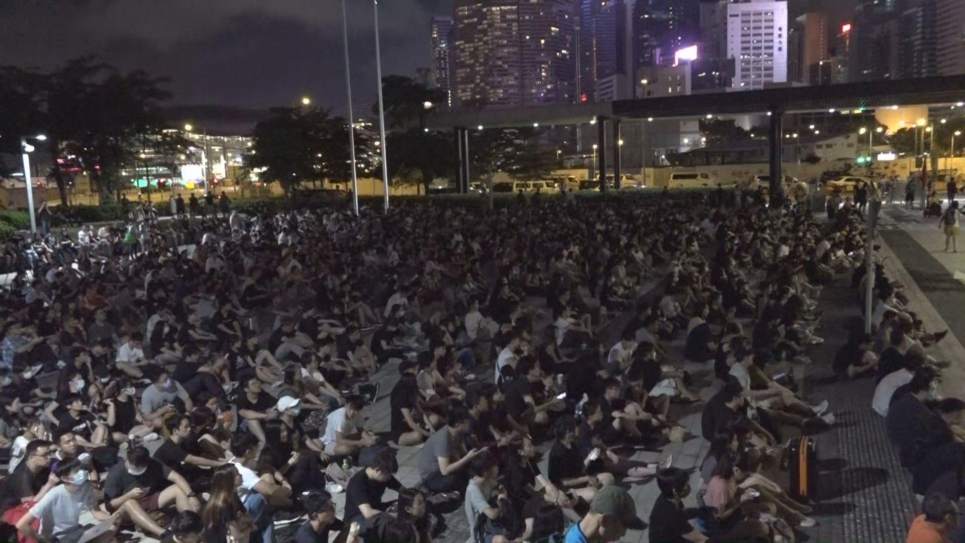 民陣舉行集會抗議警方濫權