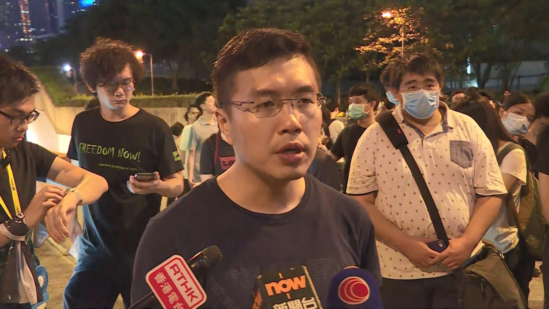 民陣重申當日示威者無人是暴徒