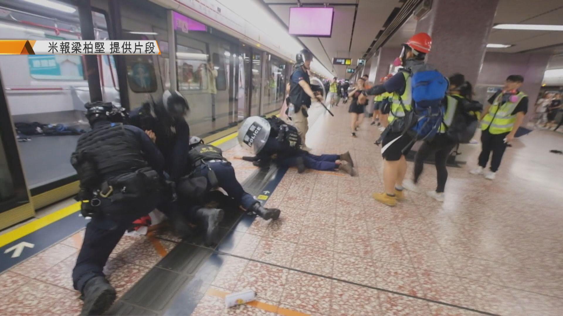 曾拍下831太子站內情況 梁柏堅憂警將隨意控告網媒