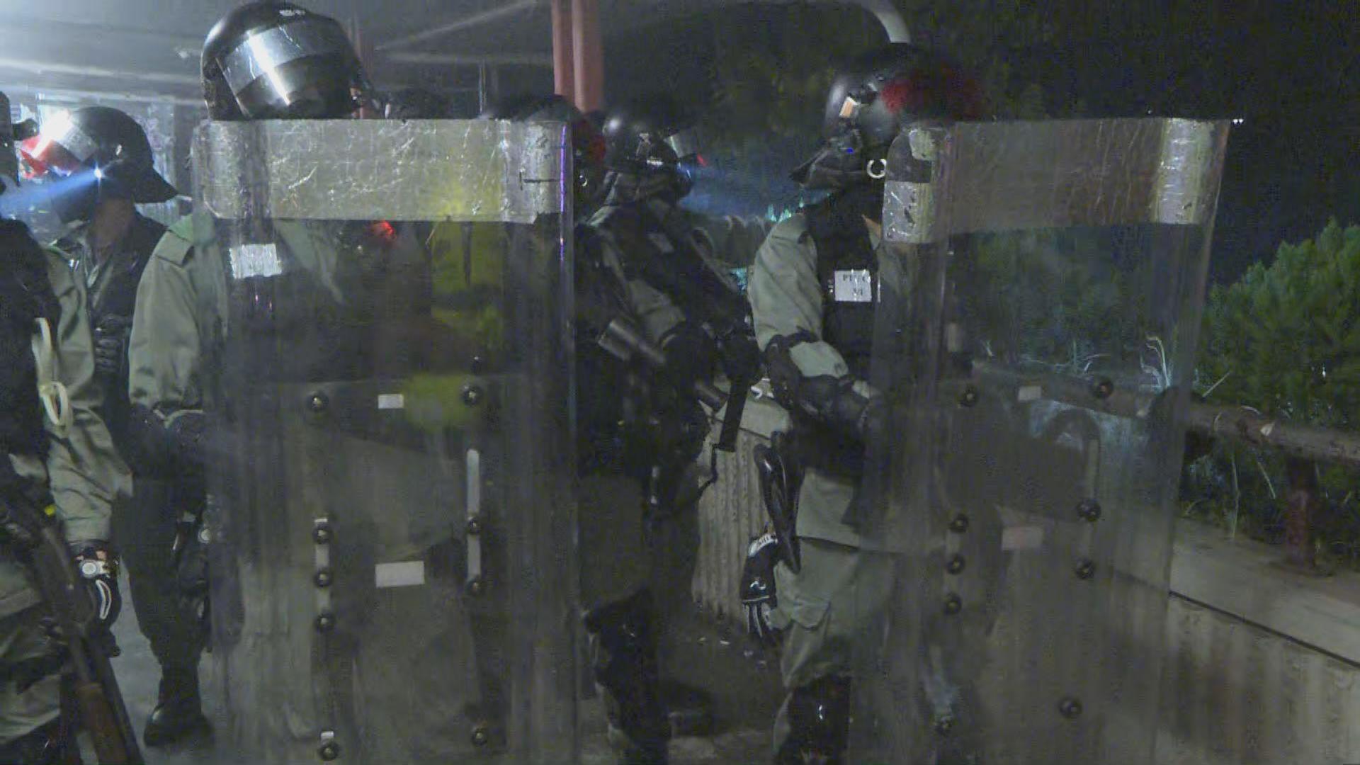 防暴警稱「開香檳慶祝」 警方指已訓斥涉事警員