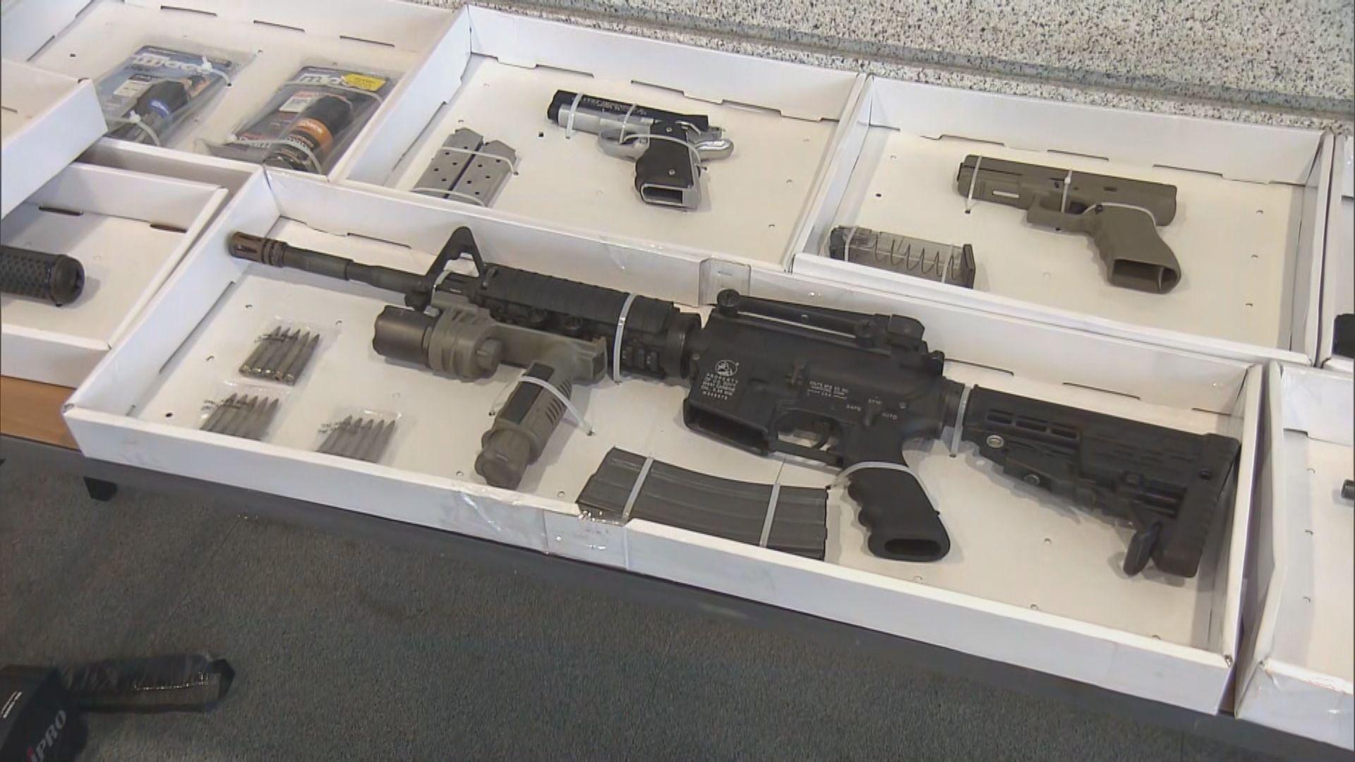 警搜查全港多處檢槍械及組件拘三人