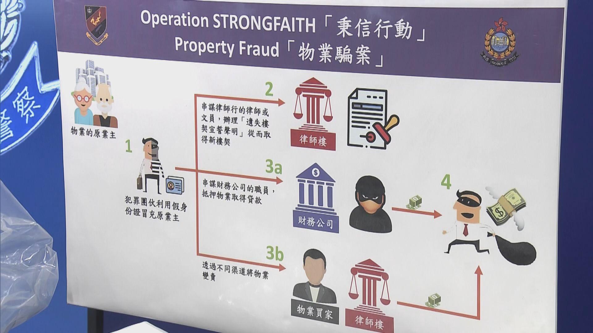 警拘12人包括大律師涉訛稱有空置單位業權騙6千萬元