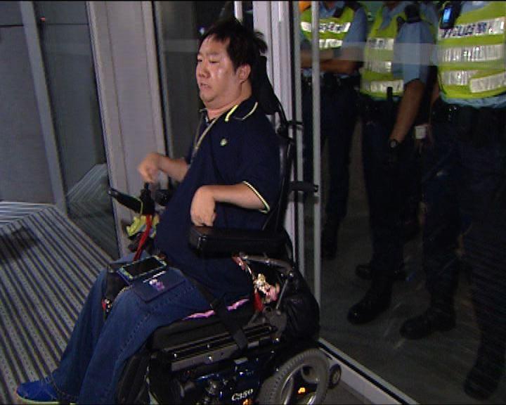 警拘張超雄議員助理涉非法集會