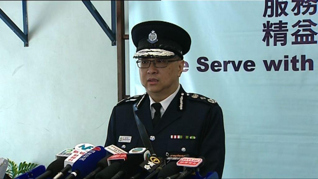 盧偉聰:司法程序未完 不評論七警案