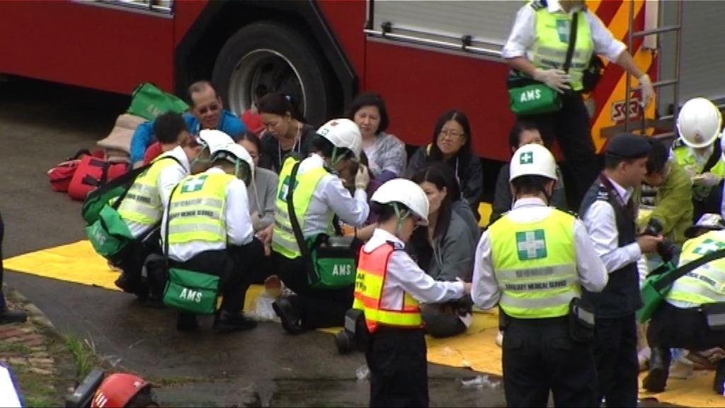 警方舉行重大事故演習