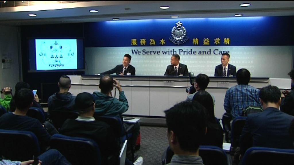 粵港聯手瓦解外圍集團涉款一億