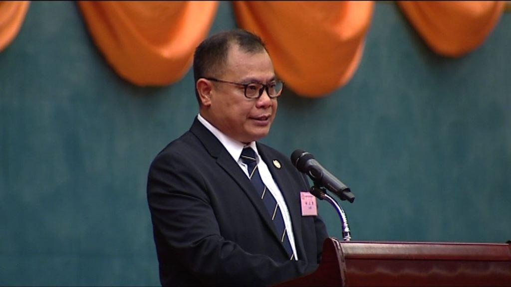 林志偉:積極推動訂立辱警罪保障前線警員