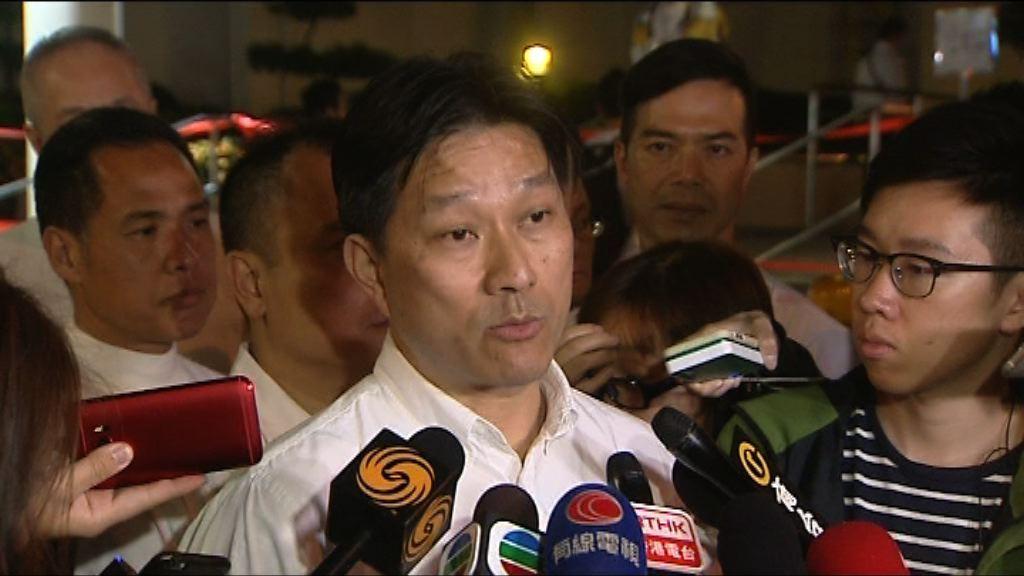 陳祖光:會協助七警就定罪上訴