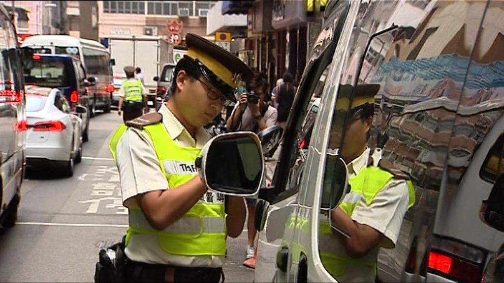 警方再展開全港違例泊車行動