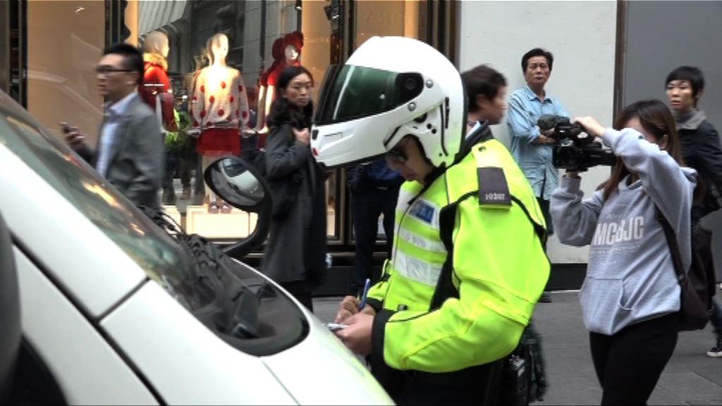 警方周五起一星期直接票控違例泊車