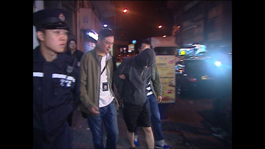 警方「犂庭掃穴」共拘捕172人