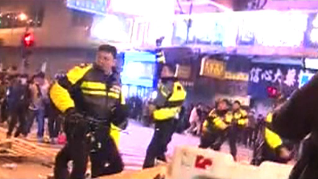 警方指警員旺角開槍示警合理恰當
