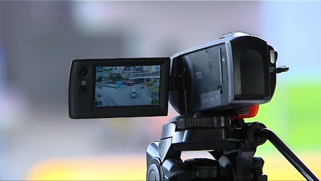 警方試行以攝錄機在迴旋處協助執法